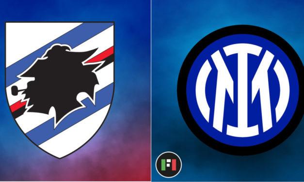 Serie A Live: Sampdoria vs. Inter