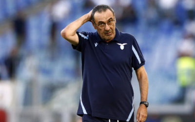 Sarri aims dig at Dal Pino over Serie A and Premier League sponsorship deals