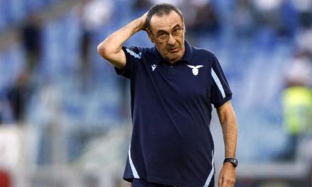 Sarri: 'la Lazio no comprende del todo mis ideas'