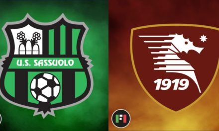 Serie A Preview | Sassuolo vs. Salernitana: the first Serie A match between the two