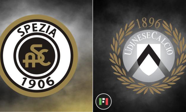 Serie A Live: Spezia vs. Udinese