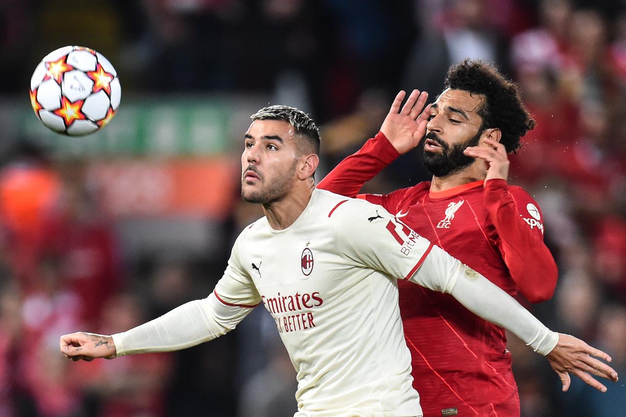 Theo Hernandez Mohamed Salah