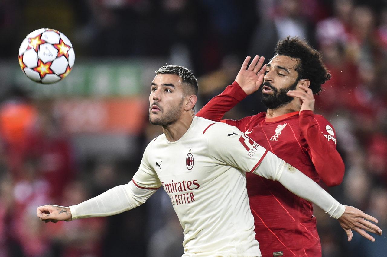 Theo Hernandez vs. Salah