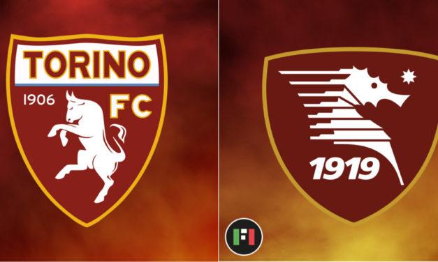 Serie A Live: Torino vs. Salernitana