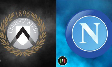 Serie A en directo: Udinese vs.Nápoli