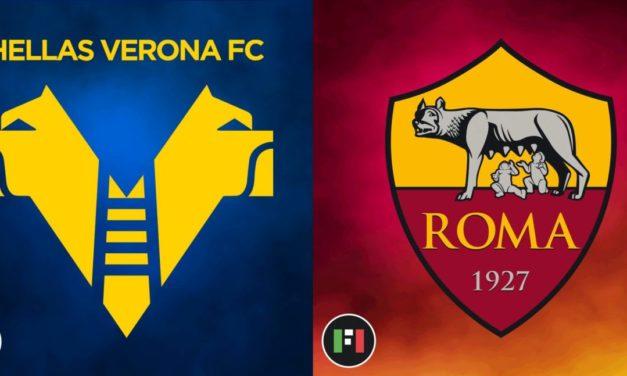Serie A LIVE: Hellas Verona vs. Roma