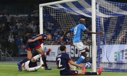 Serie A | Napoli 2-0 Cagliari: Osimhen inspires perfect start