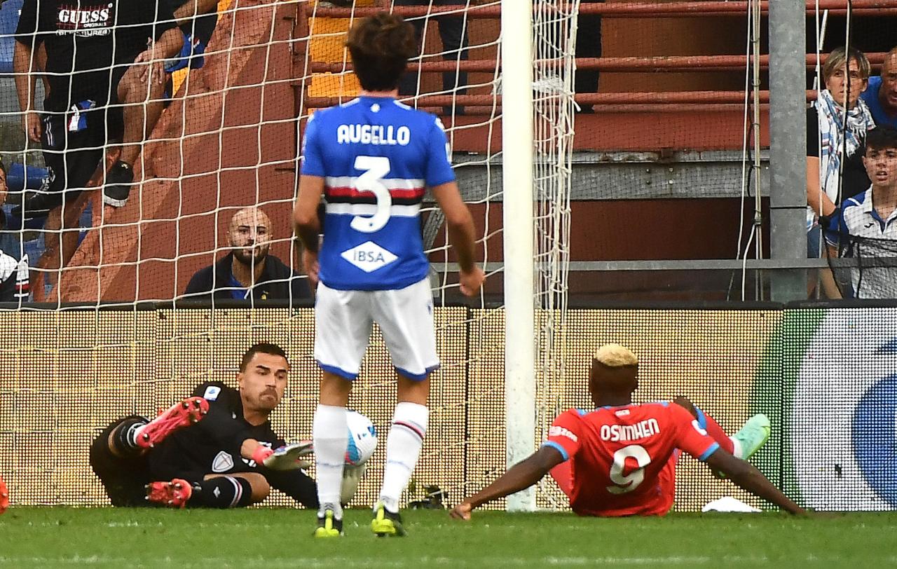 Victor Osimhen goal Emil Audero