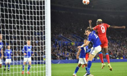 Osimhen: 'Napoli kept playing as a team'