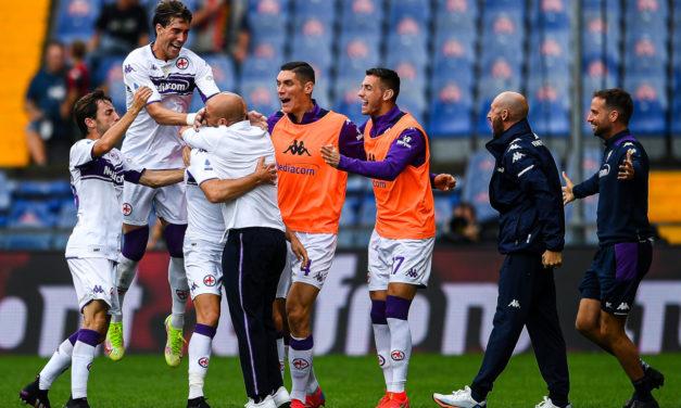 Italiano brings joy to Fiorentina