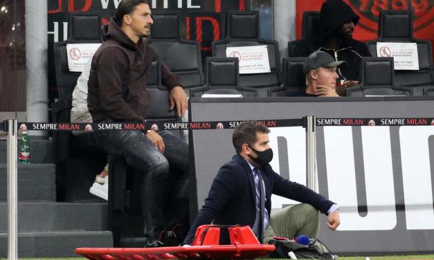 Mira la reacción de Zlatan al gol de Brahim Díaz