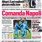 Documentos de hoy - Napoli gobierna, Allegri furioso