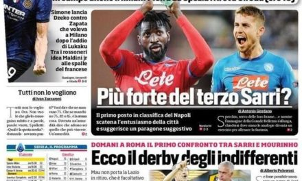 Today's Papers – Gasp test, the third Maldini starts for Milan