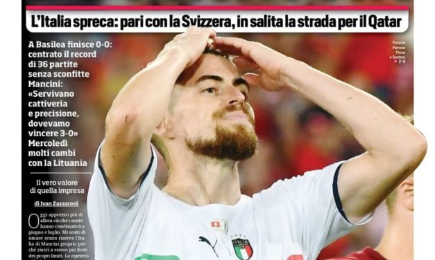 Today's Papers – Wasteful Italy set record