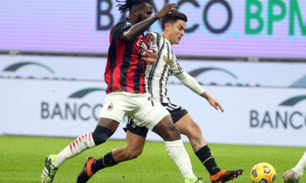Cinco batallas clave para ver durante la Juventus vs.Milán