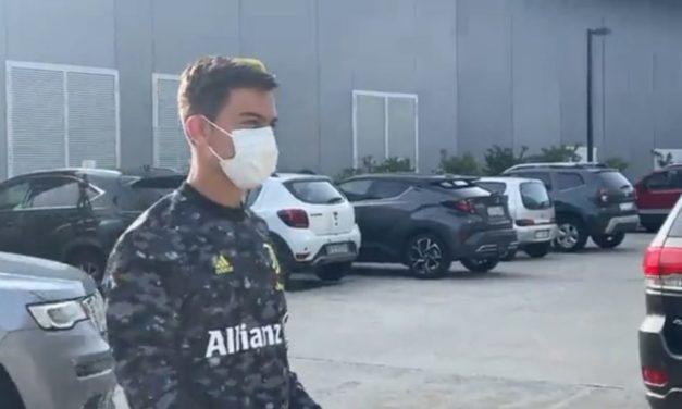 Dybala apunta al banquillo de la Juventus contra el Inter