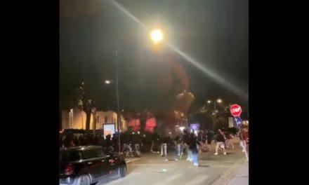 Exclusive Video: clash between fans after Fiorentina vs. Inter