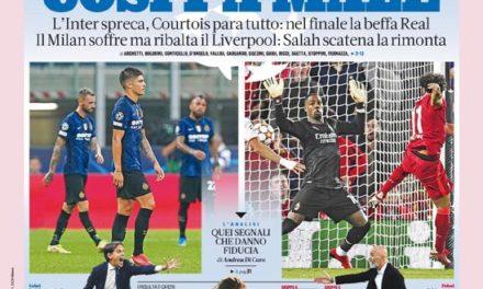 Papeles de hoy - Eso duele, amarga al Milan y al Inter