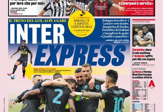 Documentos de hoy - Inter Express, Juve-Milan se pone la piel de gallina