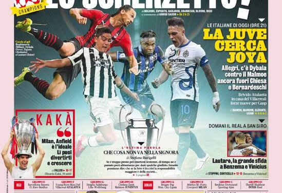 Today's Papers – 'Juve, wake up'