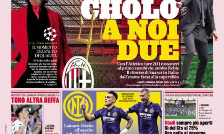Today's Papers – Juve with Chiesa and Kean, Inter at the home of De Zerbi