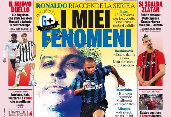 Today's Papers – Pele shock, Ribery the King of Salerno