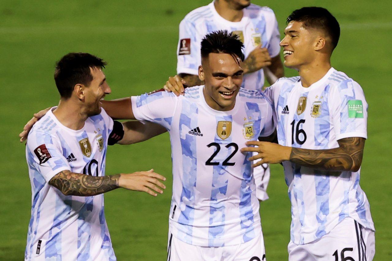 Correa has recovered, ready for Peru match - Football Italia