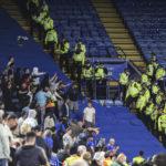 Ten Italian fans arrested in Leicester