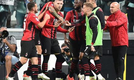 Milan fans mock Juventus after 1-1 draw