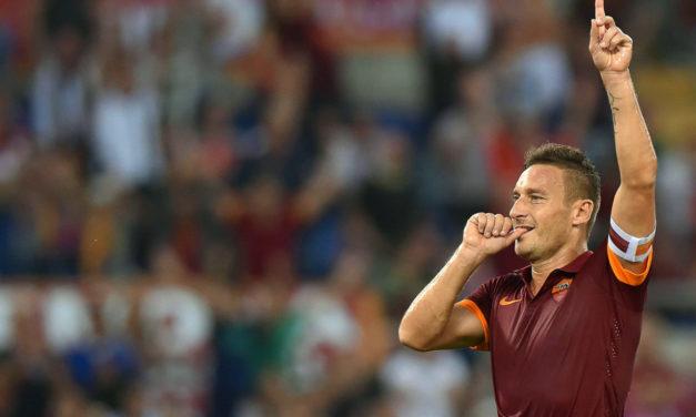 'Simply Totti': Roma celebrate birthday of club legend – video