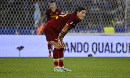 Zaniolo risks ban for obscene gesture to Lazio fans