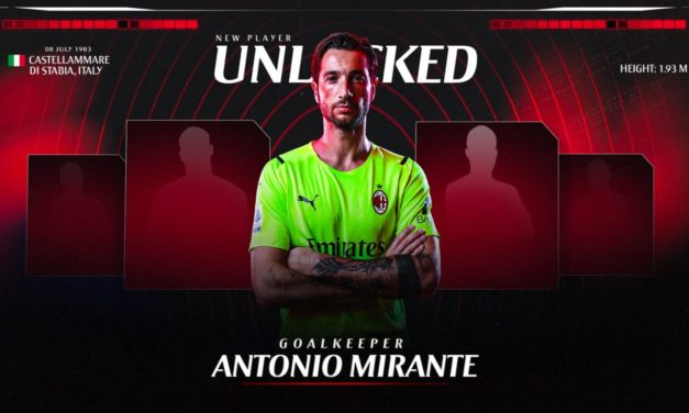 Official: Milan sign Mirante after Maignan injury