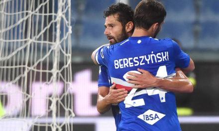 Serie A | Sampdoria 2-1 Spezia: Candreva show for Samp