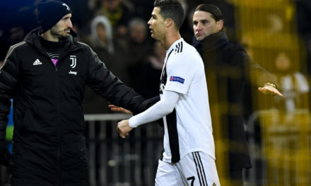 The detail that proves Chiellini wasn't pleased with Ronaldo's exit