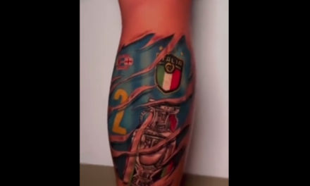 Di Lorenzo and Insigne get EURO 2020 tattoos