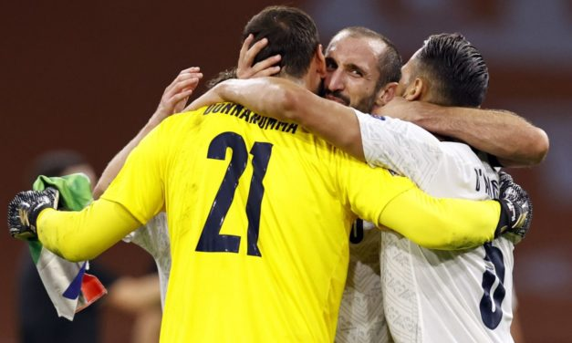 Chiellini on fans booing Donnarumma: 'Not the right occasion'