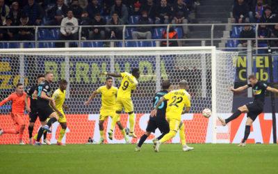 Champions League | Dzeko scored the second-best goal of the week