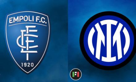 Serie A EN VIVO: Empoli vs.Inter