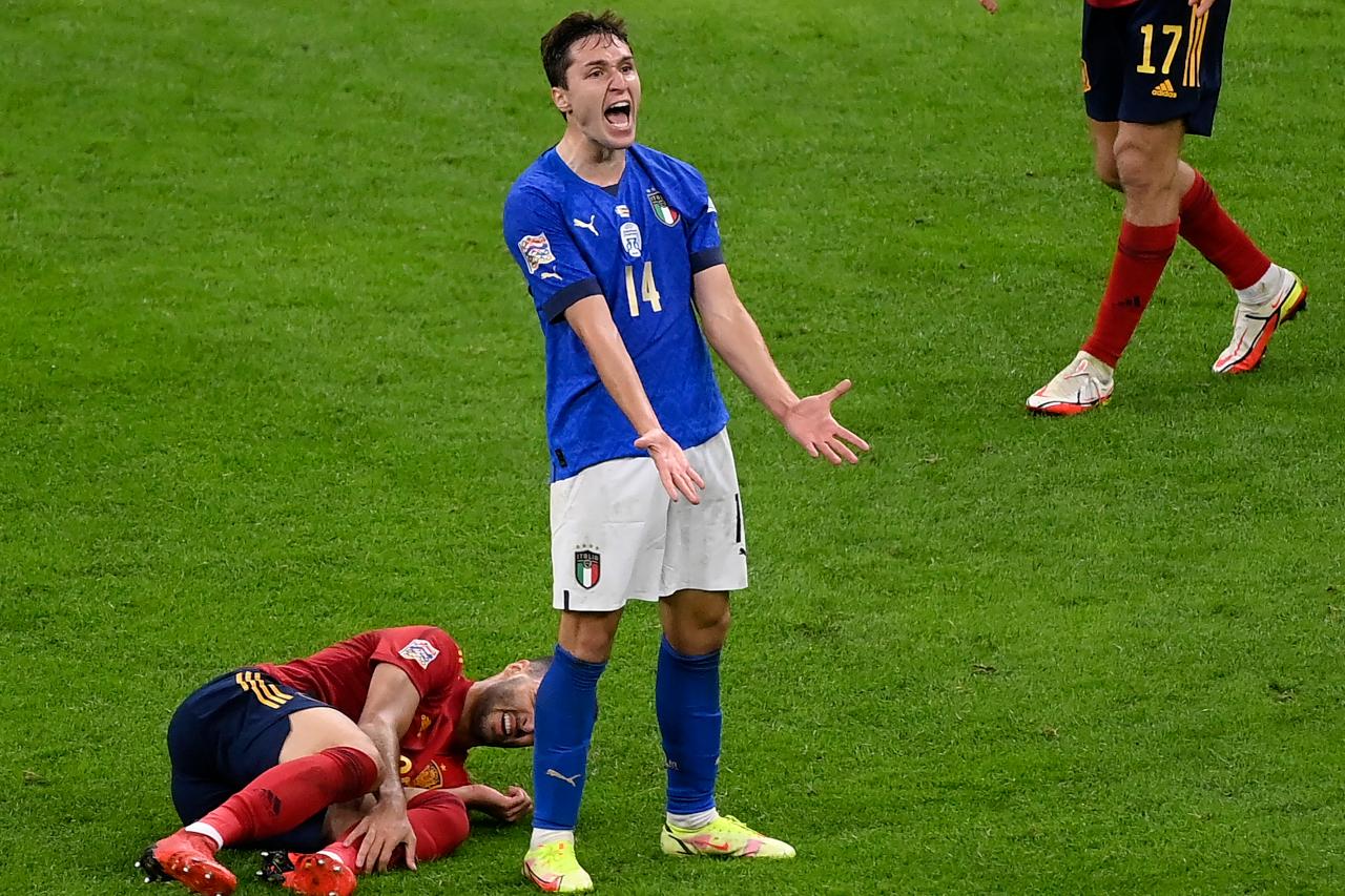 Italy Spain Nations League