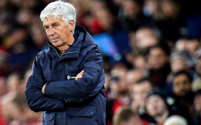 Gasperini rues Manchester United save as Atalanta capitulate