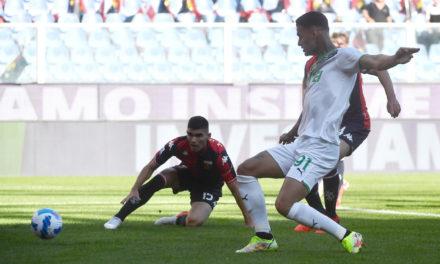Serie A | Genoa 2-2 Sassuolo: Scamacca brace not enough