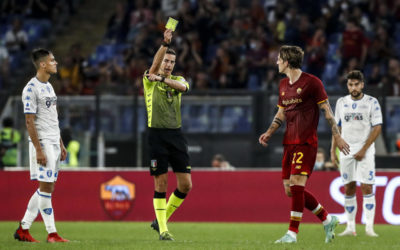 Árbitros de la Semana 10 de la Serie A: Chiffi supervisa el Empoli vs.Inter