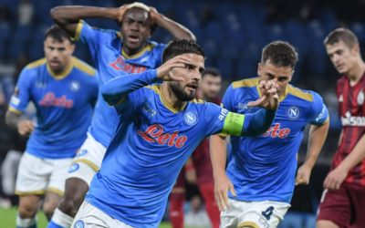 Video: Insigne stuns Legia Warsaw – and Osimhen