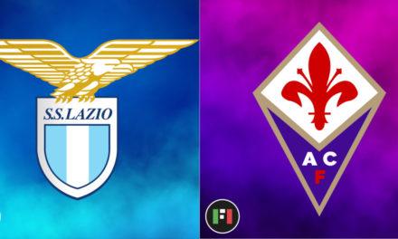 Serie A EN VIVO: Lazio vs.Fiorentina