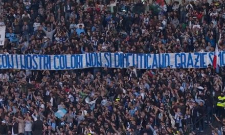 Lazio ultras thank Simone Inzaghi on return to Rome
