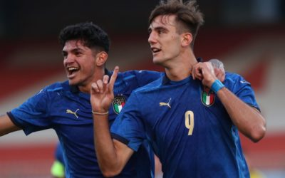 Mancini scouts striker Lucca for Italy