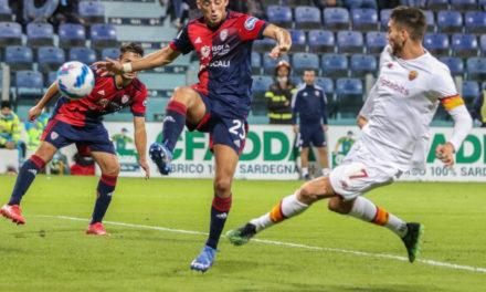 Serie A | Cagliari 1-2 Roma: Pellegrini inspirador