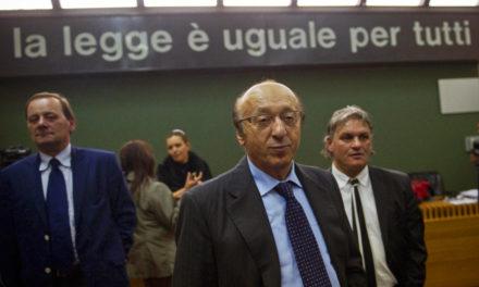 Moggi: 'I contemplated suicide over Calciopoli'