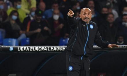 Spalletti 'devastated' by red card