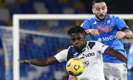 Napoli: Manolas out with sprained ankle